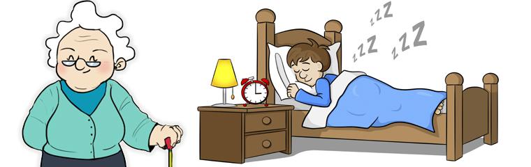 ¡No puedo dormir!