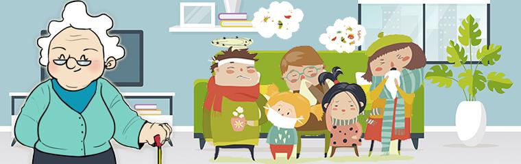 ¡Tenemos la gripe!