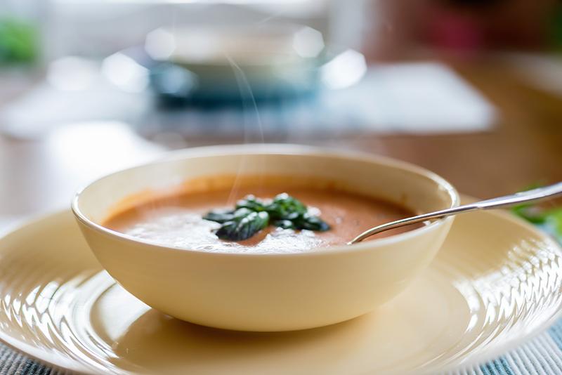 Lo mejor para la cena una buena sopa calentita